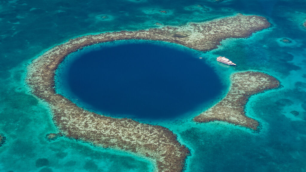 Central America and the Caribbean - The Great Blue Hole