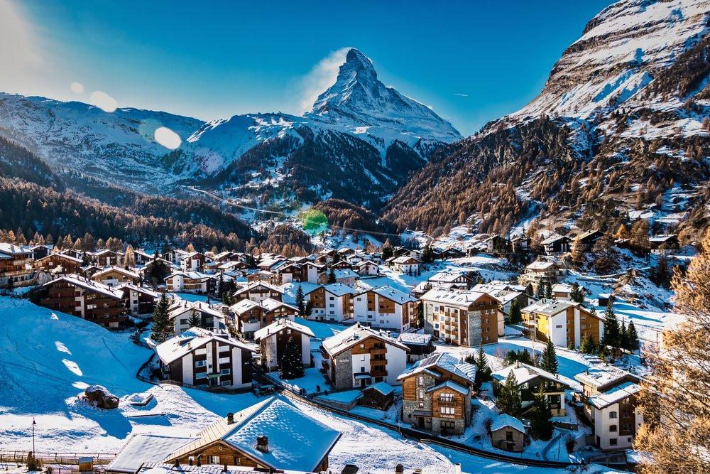 Matterhorn and Zermatt