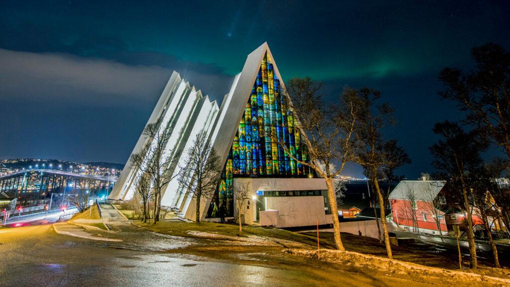 best spot in Norway - Ishavskatedralen