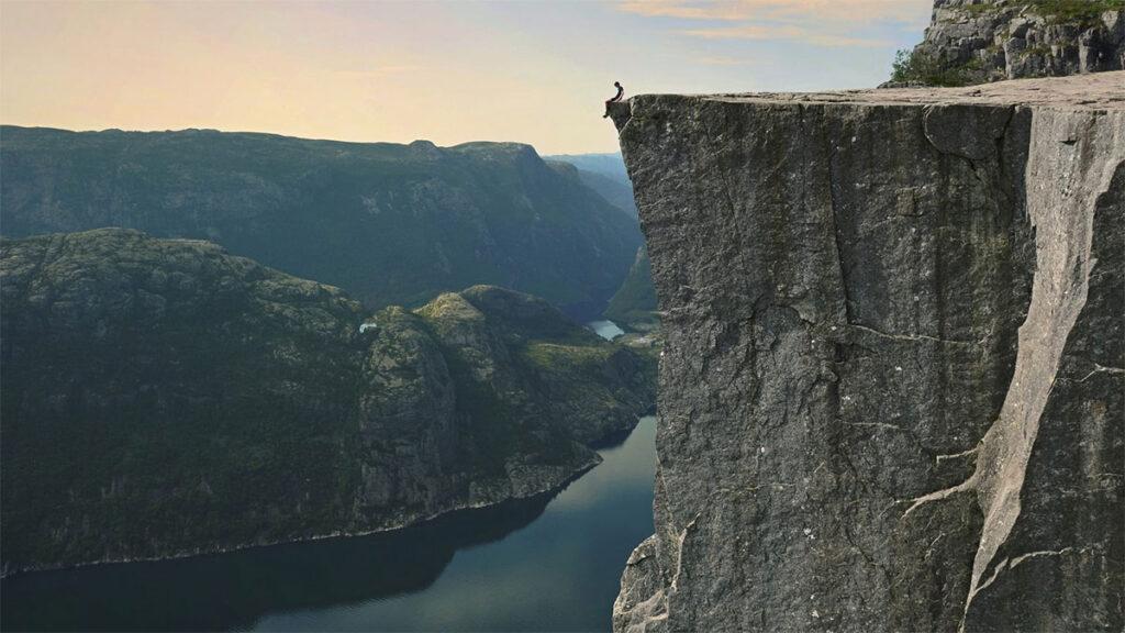 best spot in Norway - Preikestolen