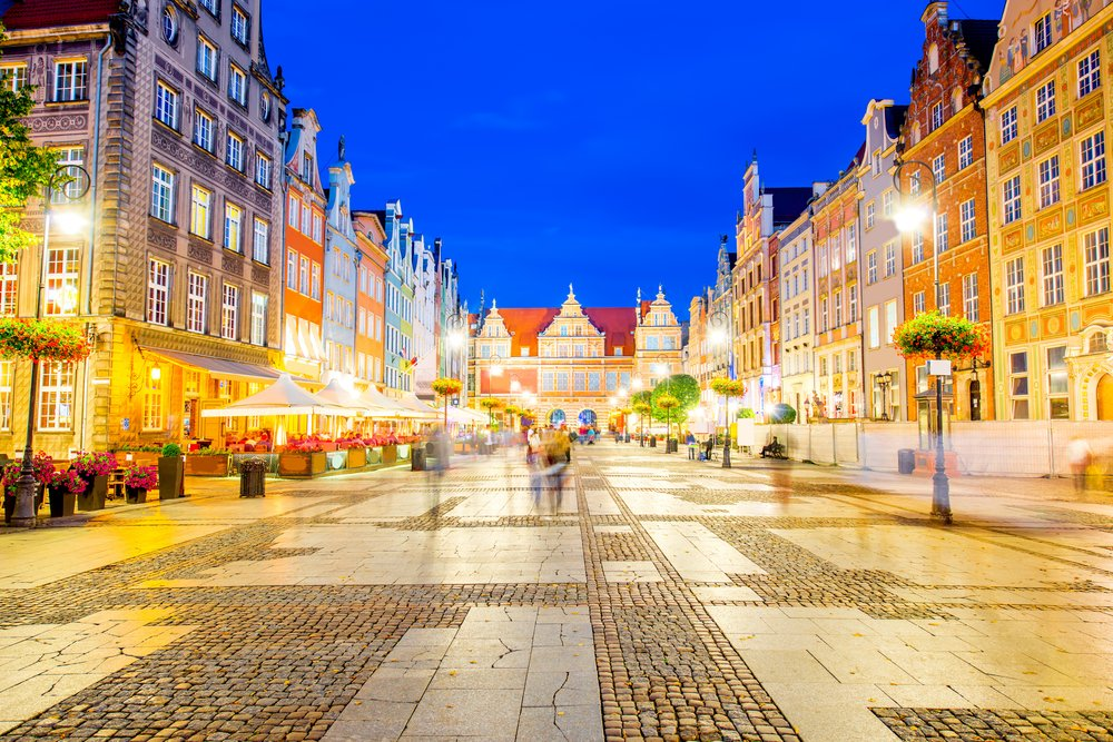 Top Attractions in Gdansk - Ulica Dluga